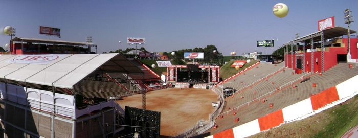 Rodeo Arena, focus of the annual fiesta in Barretos, Brazil For Less