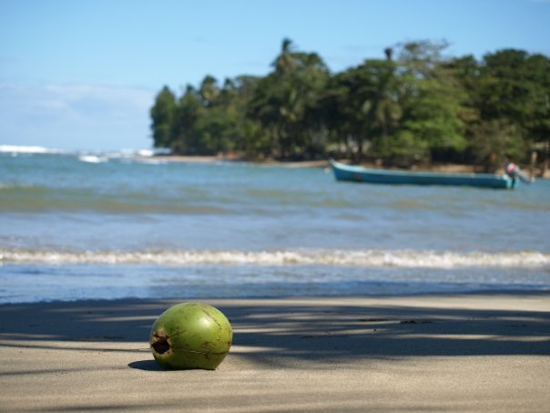 A tranquil beach at Punto Uva, near Puerto Viejo, Costa Rica For Less