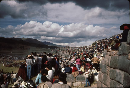 Sacsayhuaman at the Inti Raymi festival, Peru For Less