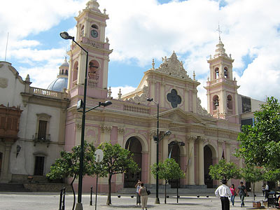 Cathedral on Plaza 9 de Julio, Salta, Argentina