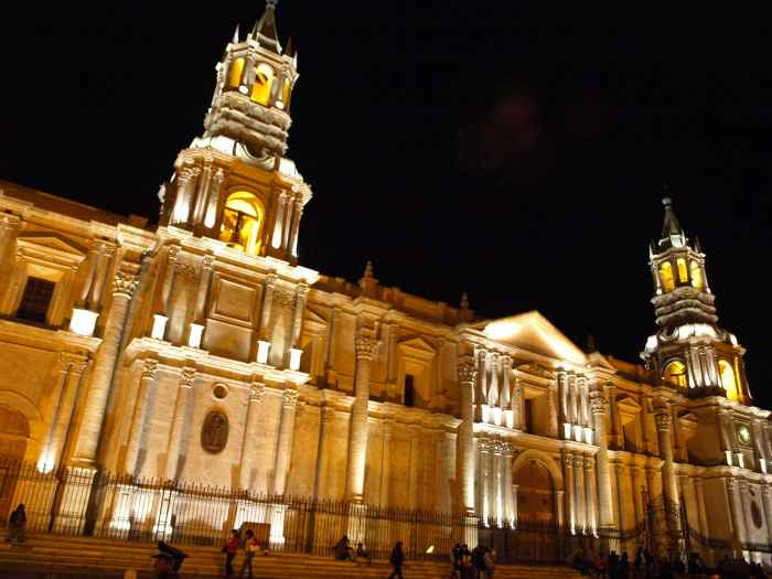 Plaza de Armas, Arequipa, Peru For Less