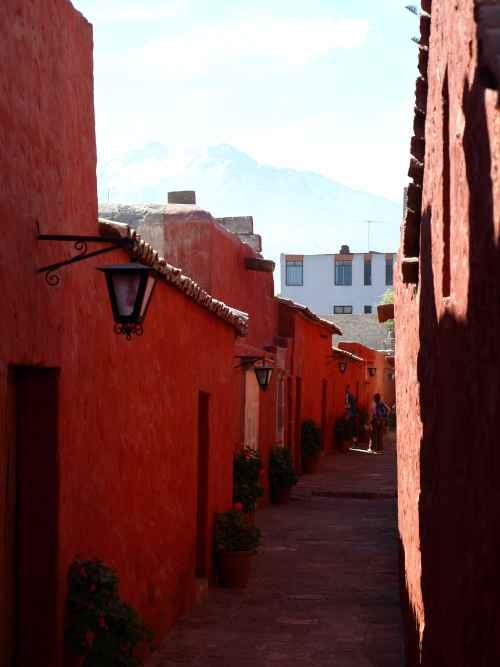 Santa Catalina, Arequipa, Peru. Photograph: Matthew Barker 2009