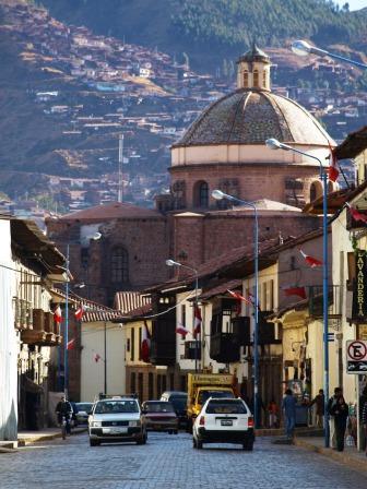Street scene in Cusco, Peru. Photograph: Matthew Barker 2009