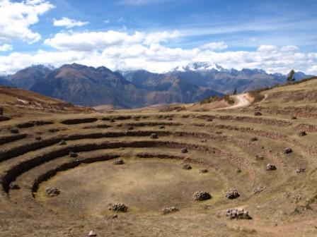 Inca Ingenuity at Moray, Sacred Valley, Peru For Less
