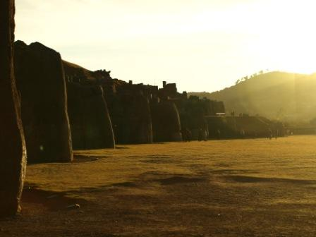 Vast stonework at Saqsaywaman, Cusco, Peru For Less