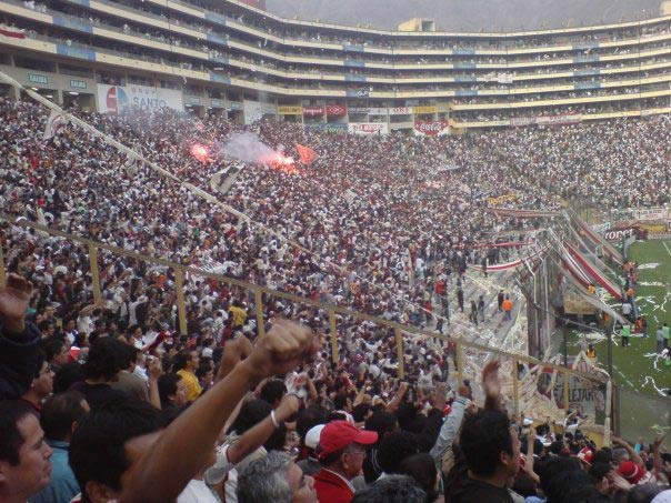 Football fans in Peru will be watching every match, despite the fact that Peru didn't quality