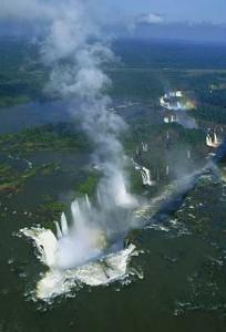 The thundering Iguazu Falls, Argentina