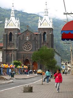 Basilica Picture, Baños Travel, Ecuador Travel, Peru For Less