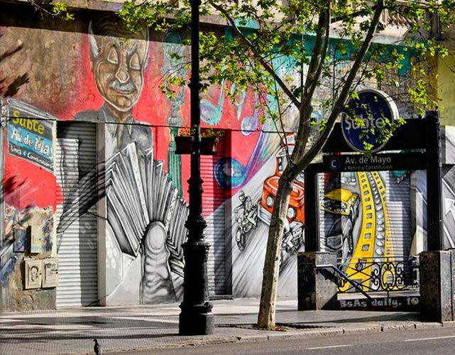 Graffiti art in Buenos Aires