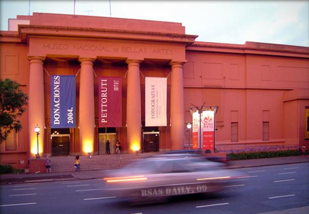 The Museum of Fine Arts in Buenos Aires