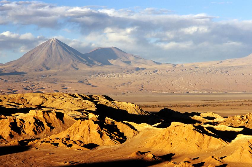 A typical South American desert