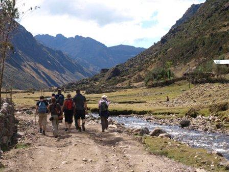 Entering the Lares Valley, Peru, Peru For Less