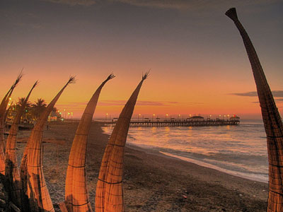 Totora reed boats, Chiclayo, Peru For Less